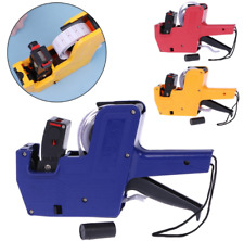 New Price Machine Mx-5500 8 Digits Price Tag Gun + 1Ink for Home Office Blue