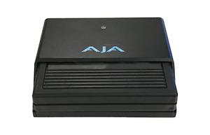 AJA KiStor Dock with USB 3/Thunderbolt 2 & 250GB Firewire KiStor Recording Media
