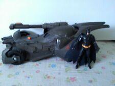 Justice League Cannon Blast Batmobile Vehicle & Batman Begins Action Figure Lot