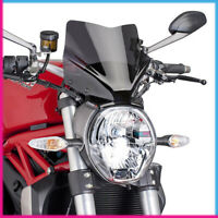 PUIG CUPOLINO NAKED N.G. SPORT DUCATI MONSTER 1200/S 2017 FUME SCURO