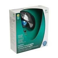 [Logitech] M570 Wireless Trackball Mouse, USB, Laser Sensor, For PC & MAC