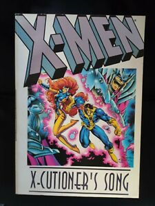 X-men X-cutioners Song marvel paperback tpb graphic novel