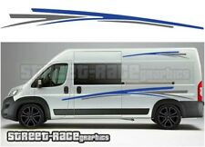 Motorhome Campervan 009 graphics stickers decal Fiat Ducato Citroen Relay Boxer