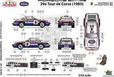 [FFSMC Productions] Decals 1/43 Porsche SCRS Tour de Corse 1985