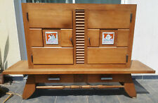 chest on stand or cabinet school of Charlotte Perriand Jean Prouvé circa 1950