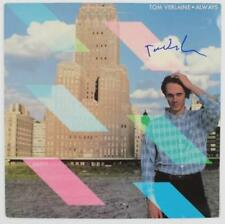 "Tom Verlaine TELEVISION Signed Autograph ""Always"" Album Vinyl Record LP"
