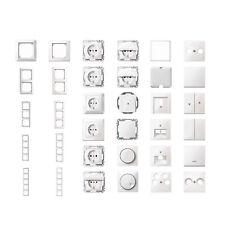 MERTEN Schalter Dosen Rahmen - polarweiß glänzend - M-Smart 1-M - große Auswahl
