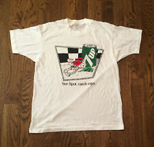Vintage 7up T Shirt XL Dated 1988 Soda 7 up Pepsi Cocal Cola Thin 50/50 Spot