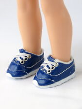 "Blue Sporty Sneakers Fits Wellie Wisher 14.5"" American Girl Clothes Shoes"