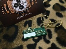 ROLEX VINTAGE 1970's 1980's BIG CROWN GREEN PRICE TAG SWIMPRUF EXPLORER GMT...