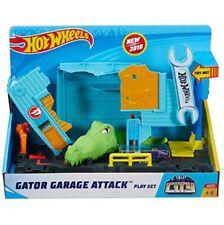 NEW Hot Wheels Gator Garage Attack Set