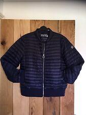 Ladies Woman's Michael Kors MK  Packable pac a Mac Coat Jacket Blue XL New