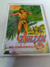 "DVD ""TARZAN Y SUS COMPAÑEROS"" GORDON SCOTT CHARLES HAAS SANDY HOWARD"