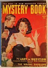 Mystery Book - Winter 1949 - Vintage Pulp Magazine - Belarski Cover; Charteris
