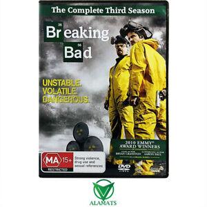 Breaking Bad Season 3 DVD [T]