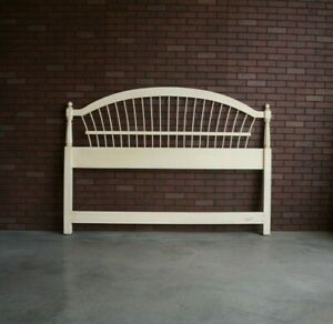 King/Cal King Headboard ~  Country French Wheatback Headboard by Ethan Allen