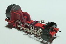 H10 Fleischmann HO DRG 1x Fahrwerk m Motor f BR 53 sschwarz 4124 404124
