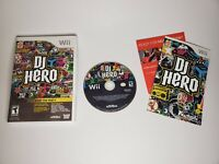 DJ Hero - Nintendo Wii Game - Complete & Tested