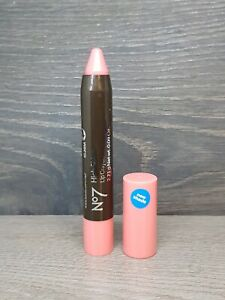 No 7 High Shine Lip Crayon Shade Petal (Pink) 2.71g New Full Size New Shade