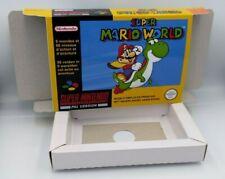 Super Mario World -  PAL or NTSC - SNES/ Super Nintendo.
