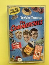 TeeVee Toons: The Commercials Cassette Tape Classic Commercial Jingles