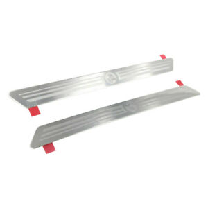 Genuine Holden Scuff Sill Plates with Lion Emblem Front for ZB LT RS RS-V VXR
