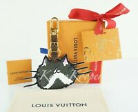AUTHENTIC LOUIS VUITTON EPI GRACE CODDINGTON CATOGRAM CAT BAG CHARM KEY HOLDER