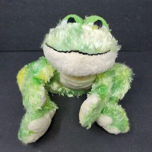 "Ganz Webkinz Tie Dye Frog Plush Stuffed Animal 8"" HM162 NO CODE Green Swamp"