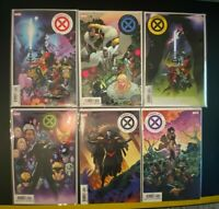 Power of X (2019) 1 2 3 4 5 6 First Printing Main Covers NM Lot Set X-Men