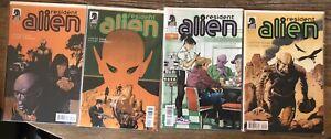 Resident Alien Comic Lot 1-4 Darkhorse TV Show high grade