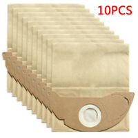 10pcs Set Cleaning Filter Dust Bags Vacuum Cleaner For KARCHER MV2 IPX4 WD210