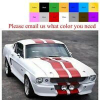 Classic Ford Mustang 67-73 Fastback Hardtop Shelby For Decal Graphic Stripe Kit