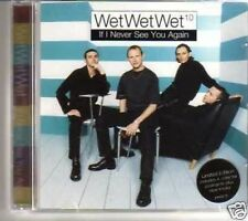 (350M) Wet Wet Wet, If I Never See You Again - 1997 CD