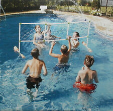 SWIMMING POOL FLOATING AQUA VOLLEYBALL GAME