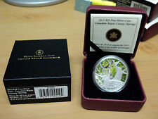 2013 Canada $20.00 Fine Silver Coin Canadian Maple Canopy Spring