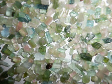 Clear Green Tourmaline Very Small Pieces Rough Stone 150 carat Lot 30 gram