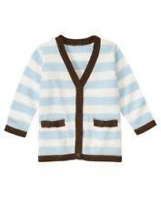 NWT~Gymboree GIRLS BEST FRIEND blue brown striped cardigan sweater~3-6