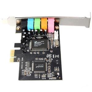 PCI-E5.1 Canale Audio 3D Scheda audio digitale a 6 canali