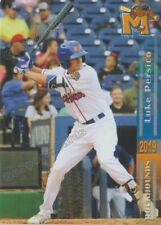 2019 Midland RockHounds Luke Persico RC Rookie Oakland Athletics