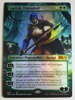 Garruk, Unleashed Borderless FOIL - Core Set 2021 (Magic/mtg) Near Mint