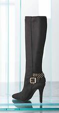Women's BCBG BCBGeneration EILEEN Tall Boots Black NIB Size 8.5M