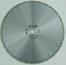 WALTHAM PRE-CUT LASER DIAMOND BLADE   400mm x 25.4mm Hard Reinforced Concrete