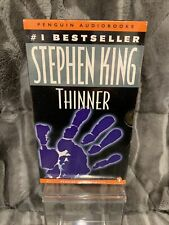 Thinner by Stephen King (1997, Audio Cassette, Unabridged edition,Abridged edition)