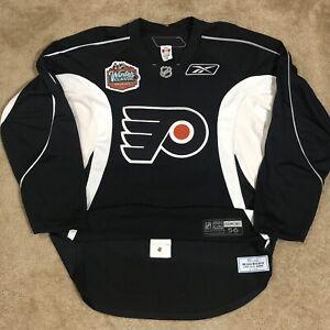 Game Worn Kimmo Timonen Philadelphia Flyers 2010 Winter Classic Practice Jersey