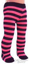 "Hot Pink/Black Striped Tights made for 18"" American Girl Doll Clothes"