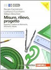Misure, Rilievo, progetto, vol.1 Cannarozzo, ZANICHELLI editore cod9788808059277