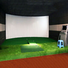 Golf Ball Training Simulator Impact Display Projection Screen Indoor Game 3mx2m