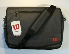 NWT - Wilson Carry On Travel Messenger Bag, Space for Laptop, Shoulder Strap