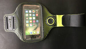 """Griffin LED Light Runner Arm Band Fits Smartphones up to 5.5"""" iPhone - Black"""