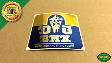 SAVE $15! RARE DG BMX Head Tube Decal Stickers - 1979 - 1981 Factory Correct
